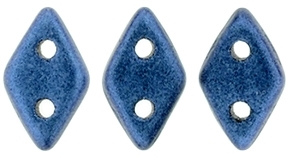 "CzechMates Diamond 4x6mm Tube 2.5"" : Metallic Suede - Blue"