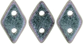 "CzechMates Diamond 4x6mm Tube 2.5"" : Polychrome - Orchid Aqua"