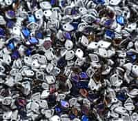 Czech Dragon® Scale Beads - CZDS-00030-29636 - Crystal Bermuda Blue - 5 Grams