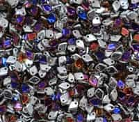 Czech Dragon® Scale Beads - CZDS-00030-29942 - Crystal Volcano - 5 Grams