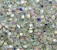 Czech Dragon® Scale Beads - CZDS-00030-98539 - Crystal Green Rainbow - 5 Grams