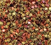 Czech Dragon® Scale Beads - CZDS-23980-98542 - Jet California Gold Rush - 5 Grams