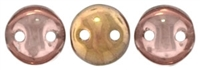 CzechMates Lentil 6mm : CZL-27101 - Apollo (Gold) - 25 Beads