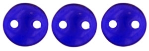 CzechMates Lentil 6mm : CZL-3009 - Cobalt - 25 Beads