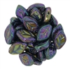 Czech Leaves 12/7mm : CZLEAF-21495 - Iris - Purple - 25 count