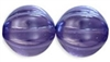 Czech Large Melon 14mm: CZM14-63395 - Lupine - 1 piece