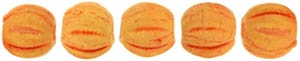 CZM3-PS1004 - Melon Round 3mm : Pacifica - Tangerine - 25 Count