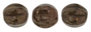 CZM5-14415 - Melon Round 5mm : Dark Bronze - 25 Beads
