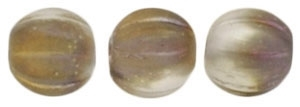 CZM5-27171 - Melon Round 5mm : Matte - Apollo Gold - 25 Beads