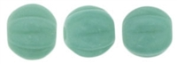 CZM5-6313 - Melon Round 5mm : Turquoise - 25 Beads