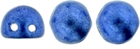 CZMCAB-04B05 - CzechMates Cabochon 7mm : ColorTrends: Satureated Metallic Navy Peony - 12 Count
