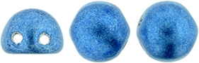 CZMCAB-04B09 - CzechMates Cabochon 7mm : ColorTrends: Satureated Metallic Marina - 12 Count