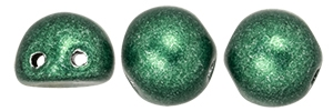 CZMCAB-06B05 - CzechMates Cabochon 7mm : ColorTrends: Saturated Metallic Martini Olive - 12 Count