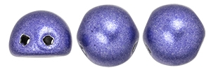 CZMCAB-06B07 - CzechMates Cabochon 7mm : ColorTrends: Saturated Metallic Ultra Violet - 12 Count