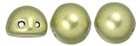 CZMCAB-06B09 - CzechMates Cabochon 7mm : ColorTrends: Saturated Metallic Limelight - 12 Count