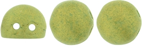CZMCAB-PS1005 - CzechMates Cabochon 7mm : Pacifica - Avocado - 12 Count