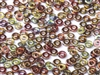 CZO-00030-95200 - Czech O Beads - 1x4mm - 4 Grams - approx 136 beads - Crystal Magic Wine