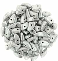 CZPRG-K0170 - Prong 3/6mm : Matte - Metallic Silver - 25 Count