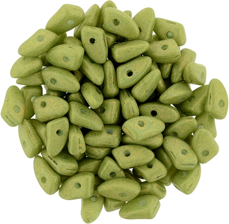 CZPRG-PS1005 - Prong 3/6mm : Pacifica - Avocado -25 Count