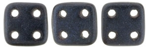 CZQT-79032 - CzechMates QuadraTile : Metallic Suede - Dark Blue - 25 Count