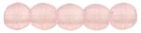 Czech Round Beads 2mm: CZRD2-71010 - Milky Pink - 25 pieces