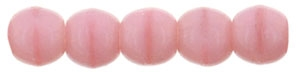 Czech Round Beads 2mm: CZRD2-74020 - Coral Pink - 25 pieces
