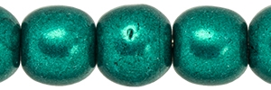 Round Beads 4mm: CZRD4-07B04 - ColorTrends: Saturated Metallic Forest Biome - 25 pieces