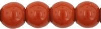 Round Beads 4mm: CZRD4-13610 - Umber - 25 pieces