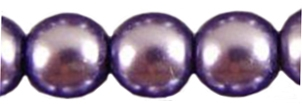 Round Beads 4mm: CZRD4-70022 - Lavender - 25 pieces