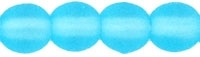 Round Beads 4mm: CZRD4-M6002 - Matte Aquamarine - 25 pieces