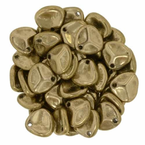 Rose Petals 8/7mm - CZRP8-90215 - Bronze - 25 Petals