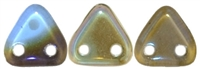 CzechMates Two Hole Trangles 6mm: CZT-Z3005 - Sapphire - Celsian