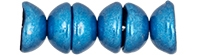 CZTC-06B03 - Czech Teacup 2/4mm Beads - ColorTrends: Saturated Metallic Nebulas Blue - 4 Grams - Approx 60 Count