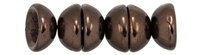CZTC-14415 - Czech Teacup 2/4mm Beads - Dark Bronze - 4 Grams - Approx 60 Count