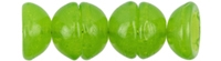 CZTC-51010 - Czech Teacup 2/4mm Beads - Milky Dark Peridot - 4 Grams - Approx 60 Count