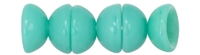 CZTC-6313 - Czech Teacup 2/4mm Beads - Turquoise - 4 Grams - Approx 60 Count