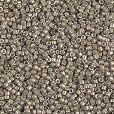 Miyuki Delica Seed Beads 5g 11/0 DB1159 S-MA Galvanized Pewter