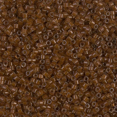 Miyuki Delica Seed Beads 5g 11/0 DB1393 ICL* Golden Brown/Chocolate