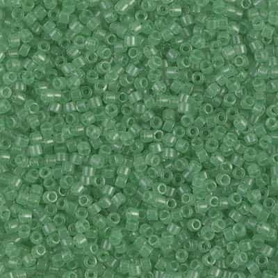Miyuki Delica Seed Beads 5g 11/0 DB1414 T Cool Cucumber