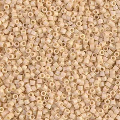 Miyuki Delica Seed Beads 5g 11/0 DB1591 OPR MA Light Butter Rum