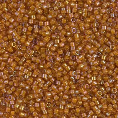 Miyuki Delica Seed Beads 5g 11/0 DB1734 ICL R Gold Dust
