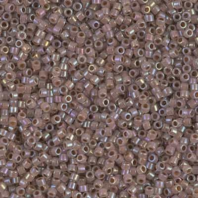 Miyuki Delica Seed Beads 5g 11/0 DB1749 ICL R Silverberry