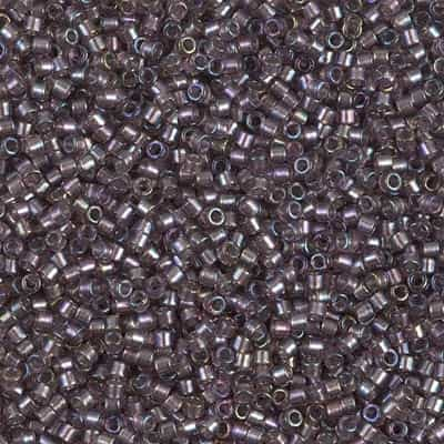 Miyuki Delica Seed Beads 5g 11/0 DB1760 ICL R Peruvian Violet