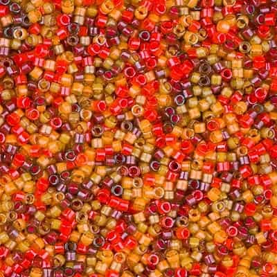 Miyuki Delica Seed Beads 5g 11/0 DB2063 Luminous Heavenly Harvest Mix