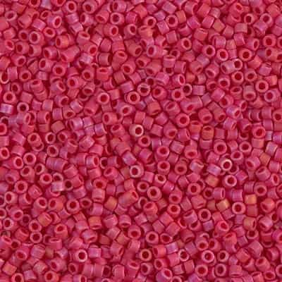 Miyuki Delica Seed Beads 5g 11/0 DB0362 MR MA Red