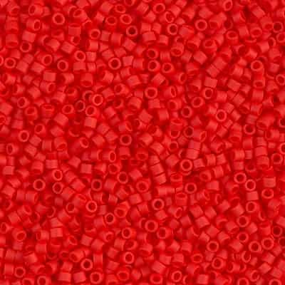 Miyuki Delica Seed Beads 5g 11/0 DB0757 OP MA Light Red