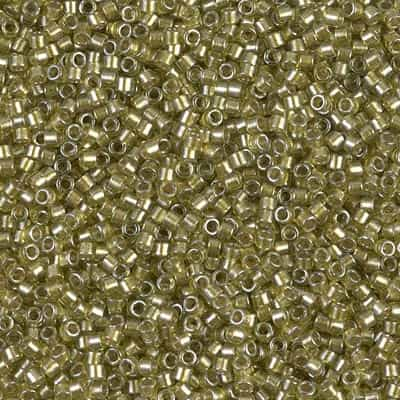 Miyuki Delica Seed Beads 5g 11/0 DB0908 ICL* Lt Chartreuse/Chart