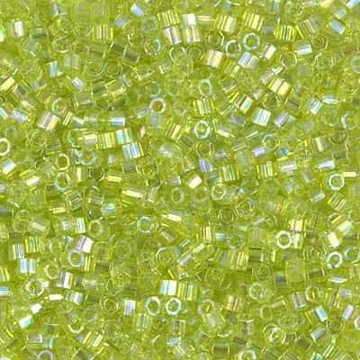 Miyuki Delica Seed Beads 5g DBMH0174 TR Chartreuse