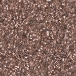 Miyuki Delica Seed Beads 1 Gram 15/0 DBSH37 Hex ICL Crystal/Copper
