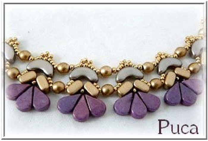 Les Perles Par Puca Digital Download Patterns - Amour Necklace